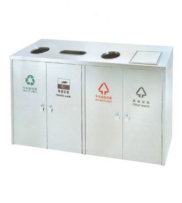 四分类地铁站垃圾箱
