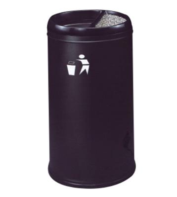 商务酒店防火铁皮垃圾桶