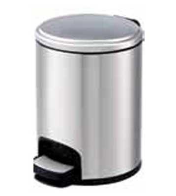厨房不锈钢脚踏式垃圾桶