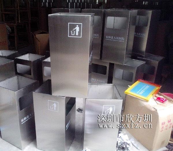 红树湾不锈钢垃圾桶入驻松阳县人民医院