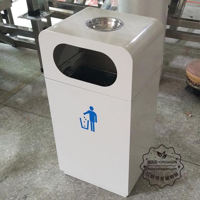 户外白铁皮镀锌板垃圾桶详细先容