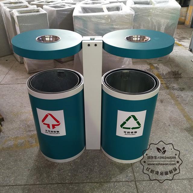 垃圾桶分类颜色和标志