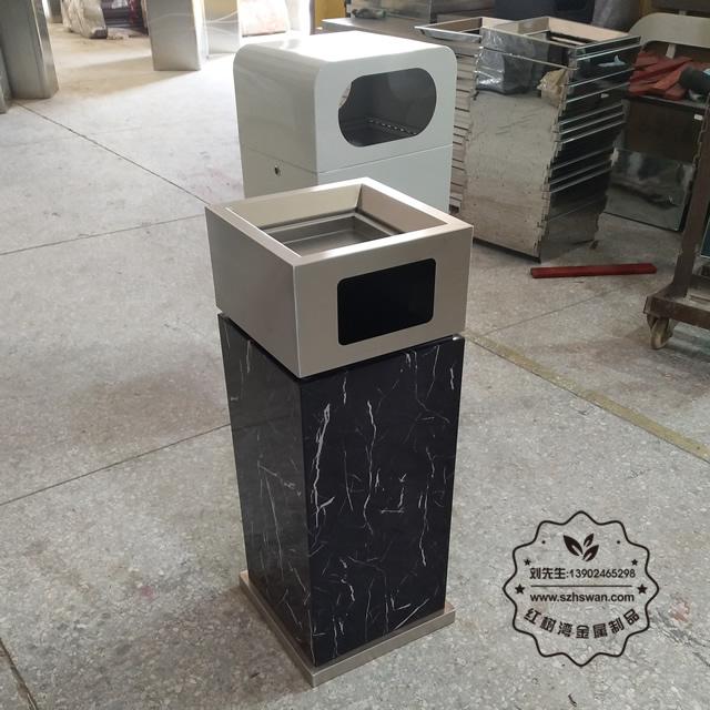 不锈钢果皮箱有很多小飞虫是怎么回事