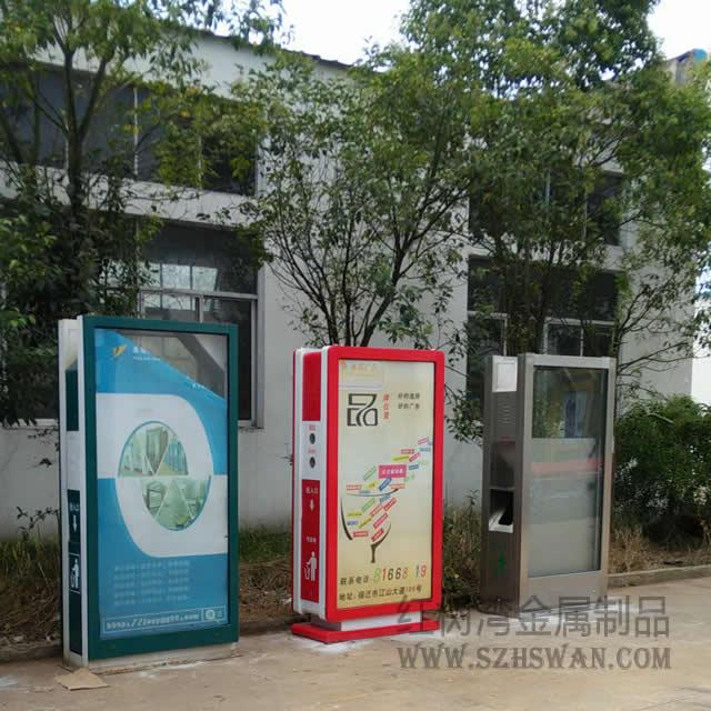 深圳广告不锈钢垃圾桶生产厂家
