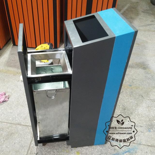 深圳宝安方形不锈钢垃圾桶采购案例