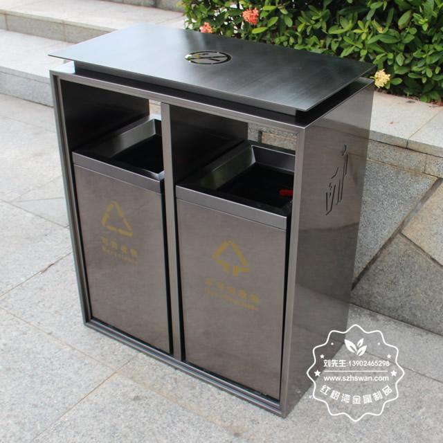 景区不锈钢垃圾桶可以缓解不文明现象
