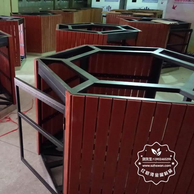 钢木垃圾箱制造生产工艺