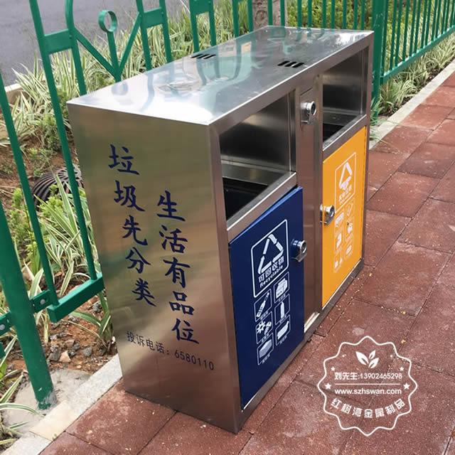 户外垃圾桶分为哪几类?