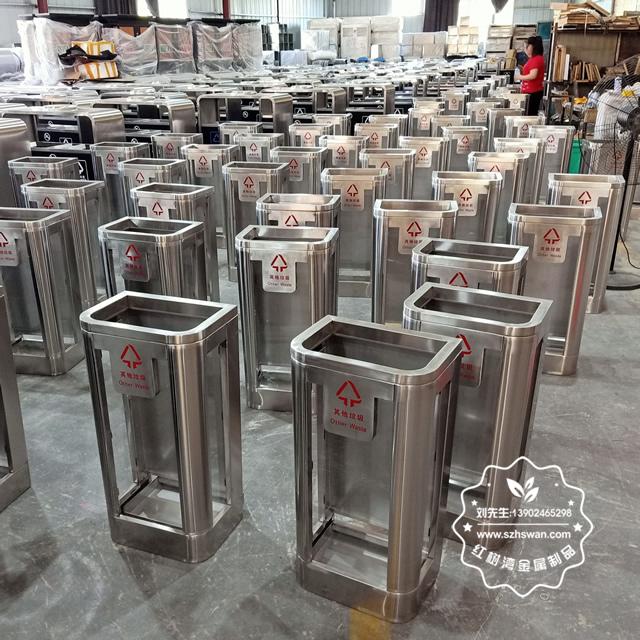 专业不锈钢垃圾桶制作生产厂家