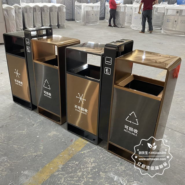哪有生产不锈钢垃圾桶的厂家?
