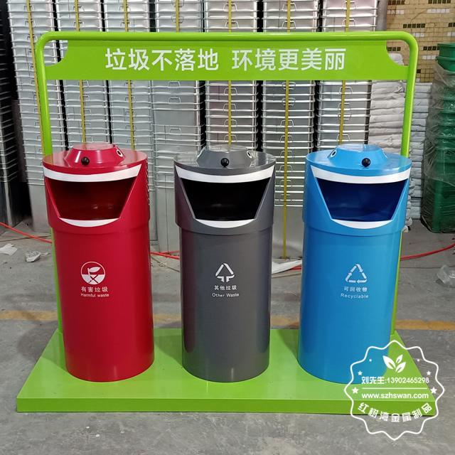 三种不锈钢垃圾桶的分类标准