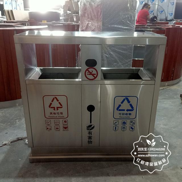 分析不銹鋼垃圾桶有哪些優點