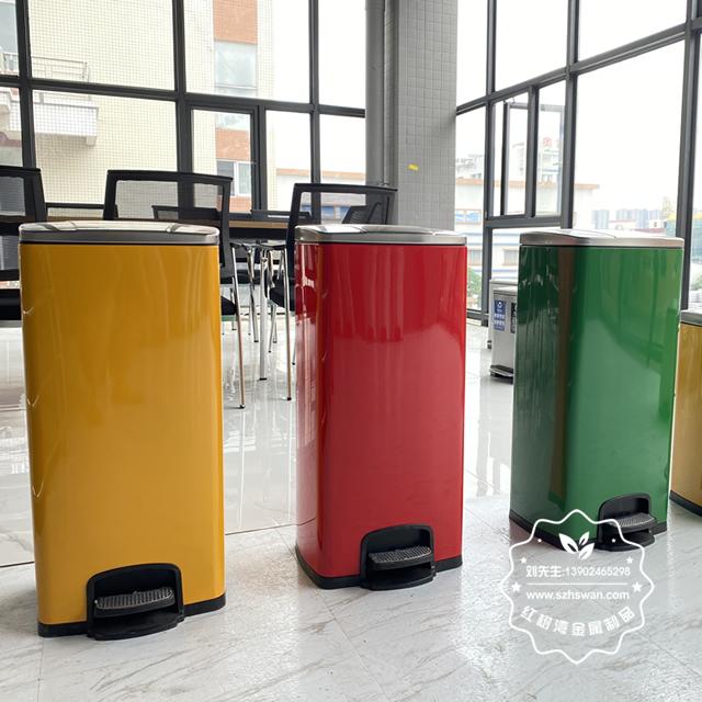 常见不锈钢垃圾桶使用和清理方法