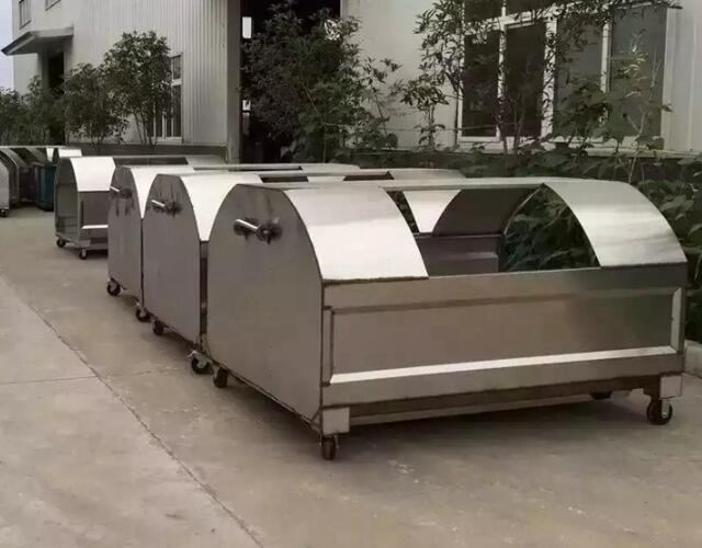 可卸式不锈钢垃圾箱